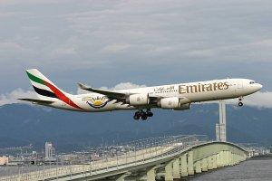 Emirates скоротили кількість рейсів до Києва