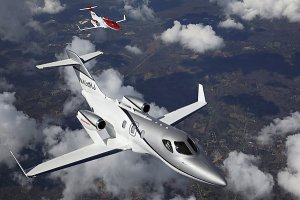 Honda почала перші випробування свого нового літака