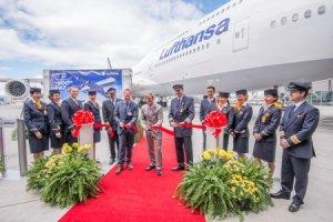 Боінг поставив свій 1500-авіалайнер 747 серію Люфтганзі