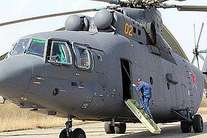 Вертоліт Мі-26Т врятував катер «Росморпорт», що сів на мілину