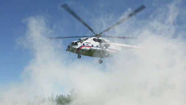Ми-8 без разрешения садился в заповеднике
