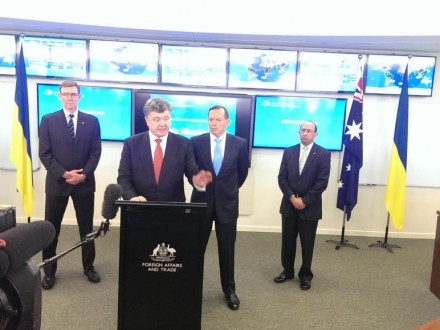 Президент Петро Порошенко зустрівся з робочою групою з розслідування обставин катастрофи Боїнг 777