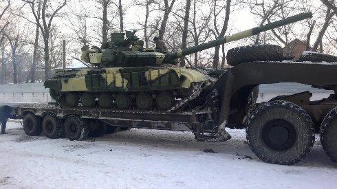 Міністерство оборони отримало першу партію танків Т-64