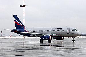 Аерофлот отримав чотирнадцятий літак Sukhoi SuperJet 100