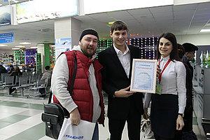 40 – тисячного пасажира зустрів аеропорт «Гірничо — Алтайськ»