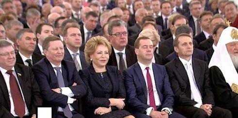 Прем'єр міністр Російської Федерації знову заснув на публіці