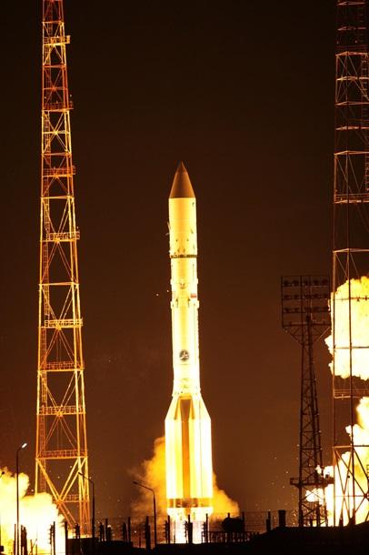 З космодрому «Байконур» здійснився чотирьохсотий запуск Протона