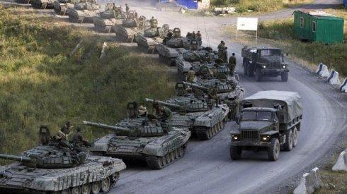Чергова армада російської важкої техніки перетнула кордон і направилась на Схід