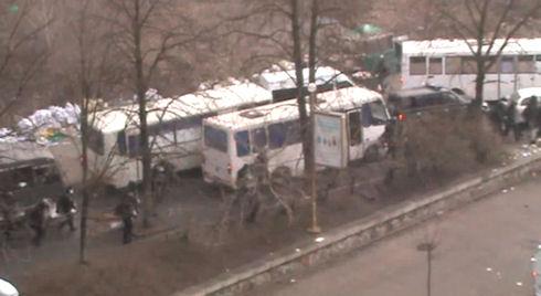 В Інтернет з'явилось відео розстрілу активістів Майдану