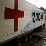 Три автобуси з померлими бойовиками привезли в Донецьк