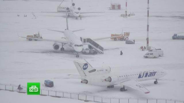 Через снігопад не приймає рейси Воронезький аеропорт