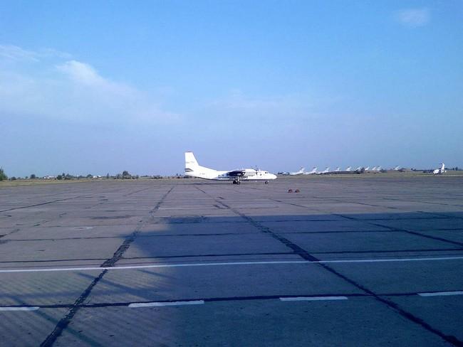 Аеропорт Запоріжжя залишиться закритим до суботи