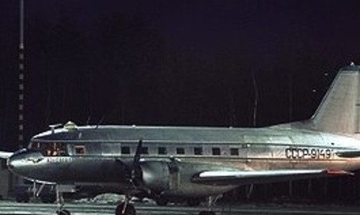 У Петербурзі пристави заарештували раритетний літак Іл-14