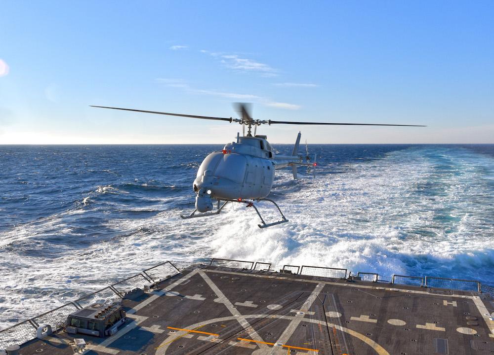 В Атлантиці випробували величезний безпілотний вертоліт