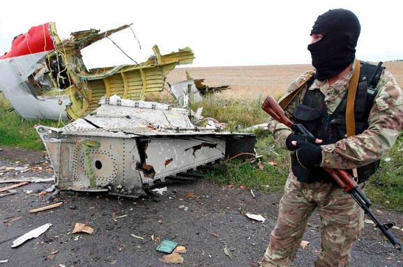 Поплічників терористів,  що збили «Боїнг — 777» знайшла СБУ