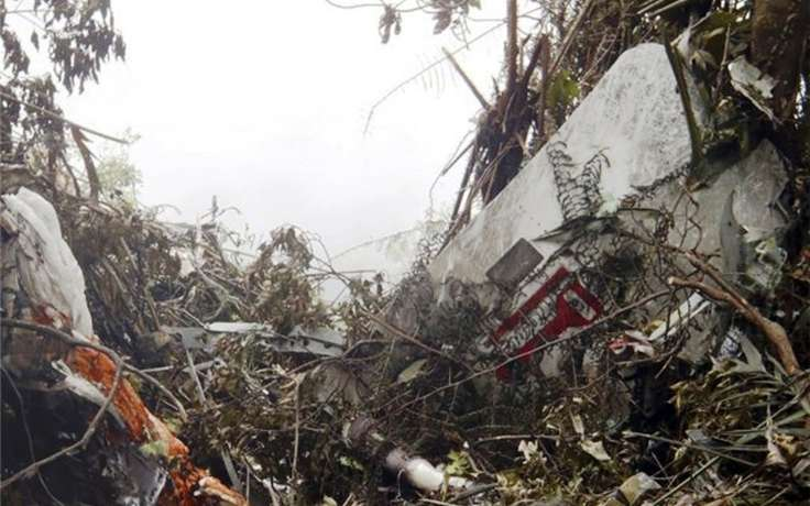 У Колумбії розбився літак, є жертви