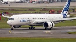 Перший літак Airbus 350 переданий замовнику