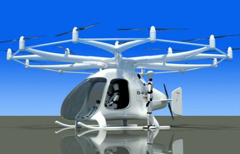 Создан частный двухместный вертолет на электричестве (ФОТО)