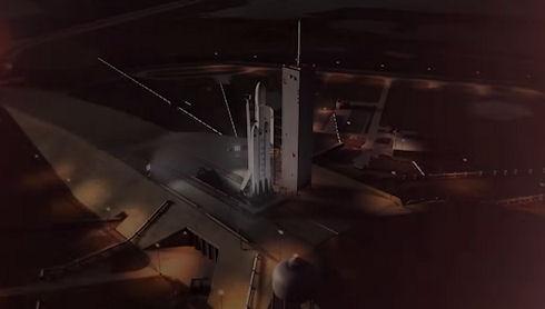Взлет самой мощной ракеты в мире — впечатляющее видео