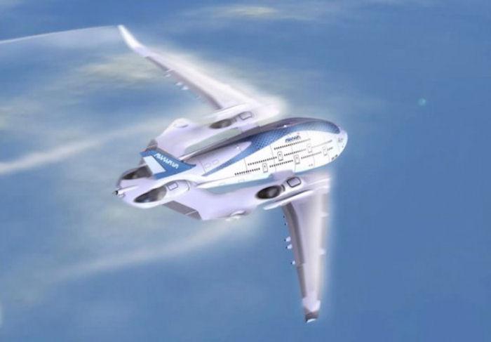 Представлен самолёт-левиафан (ФОТО)