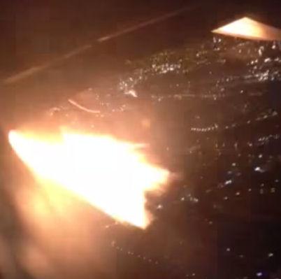 В столице Колумбии аварийно сел пассажирский самолёт с загоревшимся двигателем
