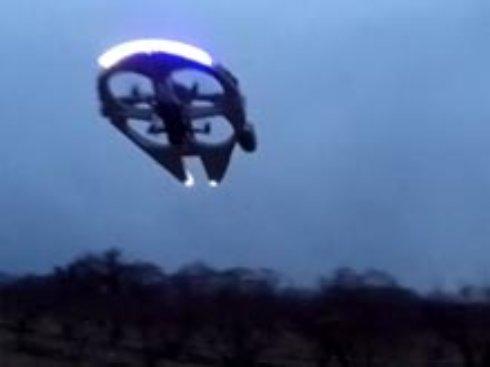 Поклонник «Звездных войн» превратил дрон в легендарный корабль Хана Соло (ВИДЕО)