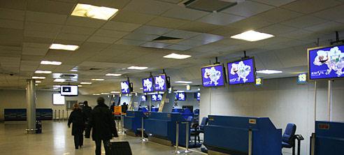 Аэропорт Борисполь уменьшил пассажиропоток в январе 2015 года на 14,2%