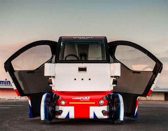 Британцы создали первый беспилотник для тротуаров (ВИДЕО)