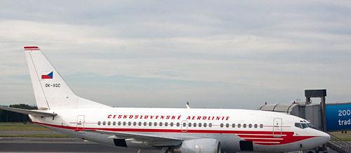Czech Airlines заморозила открытие новых рейсов в Россию