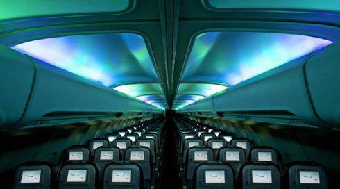 Представлен самолет с северным сиянием (ВИДЕО)