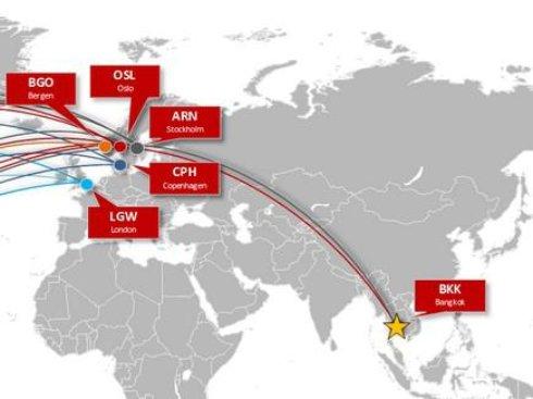 Norwegian попросила закрыть небо над Норвегией для российских авиакомпаний