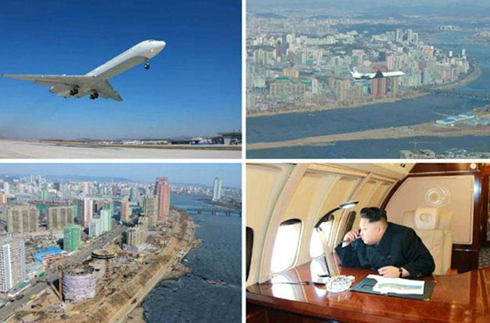 В западных СМИ обсуждают роскошный самолёт Ким Чен Ына