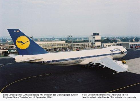 Lufthansa получит Boeing 747 в ретро-ливрее
