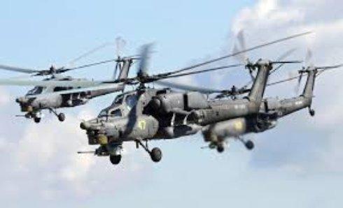 Ирак получил два российских вертолета Ми-28НЭ