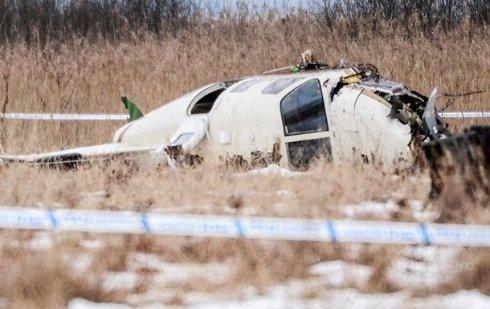 В Швейцарии упал туристический самолет