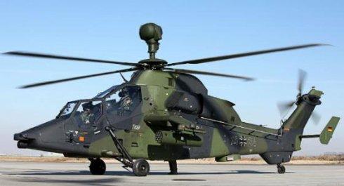 Франция сократила заказ на ударные вертолеты «Тайгер»