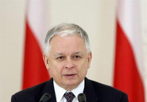 Польша требует от России выдать обломки самолета Качиньского