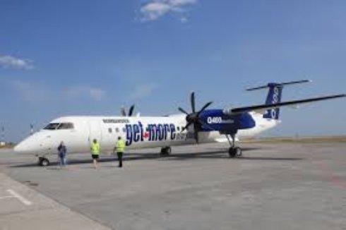 Самолет Bombardier прошел проверку в Нюрбинском авиапорту
