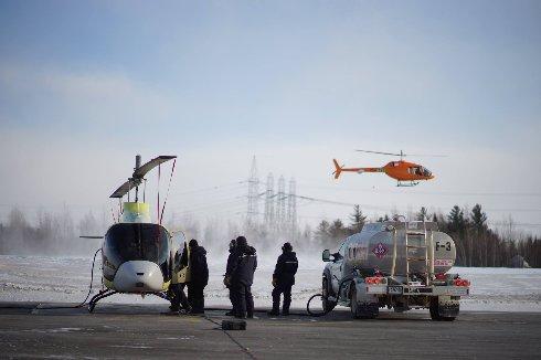 Взлетел второй Bell-505