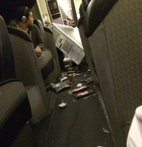 Вот что происходит в самолете, когда он попадает в сильную турбулентность (ВИДЕО)