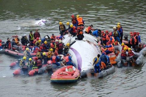 В списке погибших в катастрофе самолета на Тайване уже 31 фамилия