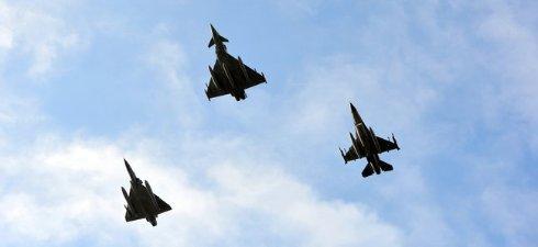 Итальянские истребители поднимались сопроводить российский самолет над Балтийским морем