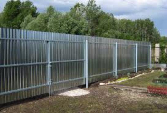 Как изготовить и установить металлическую ограду своими силами