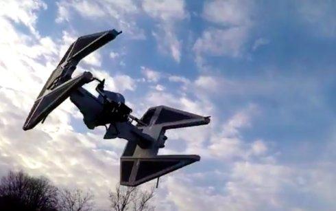 Французский энтузиаст создал копию беспилотника из Звёздных войн