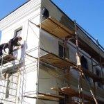Фасадные работы. Ремонт.