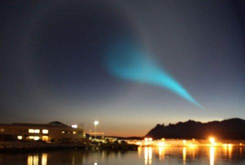 НЛО и пришельцев можно встретить в Норвегии