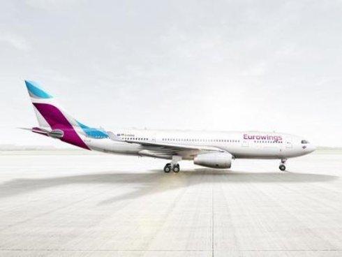 Лоукостер Eurowings откроет дальнемагистральные рейсы в октябре