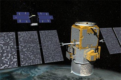 НАСА показало анимацию своей орбитальной группировки спутников (Видео)