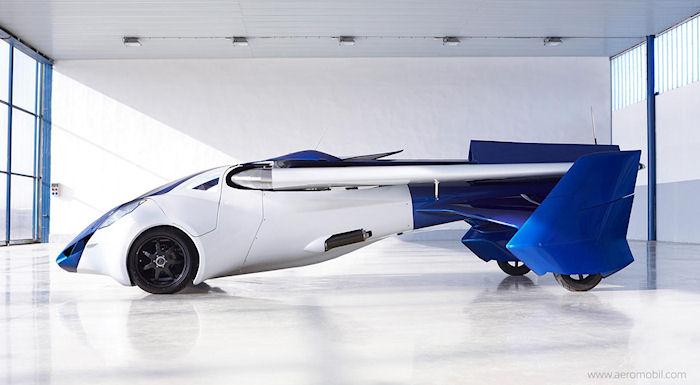 В 2017 году начнутся продажи летающего автомобиля