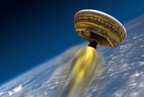 NASA испытает летающую тарелку для марсианских миссий